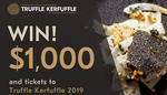 Win $1,000 Cash, 2 Nights' Accommodation + 2 Passes to Truffle Kerfuffle from Nova [WA Residents]