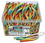 TNT Sour Multicoloured Rainbow Straps (6x 200 Straps) $15.92 + Shipping (Free with Prime or $49+ Spend) @ Amazon