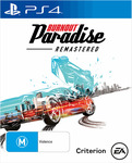 [PS4, XB1] Burnout Paradise Remastered $19.97 (New), $17 (Preowned) @ EB Games