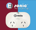 20% off Esonic USB Adapter 2 USB 2 Sockets Power Adaptor Surge Protection $15.99 Shipped @ goodesonic eBay (Eastrade)