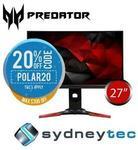 "[eBay Plus] Acer Predator XB271HU 27"" WQHD G-Sync IPS 144hz Gaming Monitor $779.20 @ Sydneytec eBay"