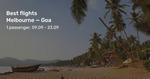 Melbourne/Sydney to Goa, India from $791/$796 Return on Air India (Aug/Sep) @ BeatThatFlight
