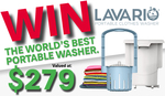 Win a Lavario Portable Clothes Washer Worth $279 from Parable Productions