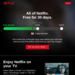 Free Netflix 30-Day Trial (Also Available to Previous Trial Customers)