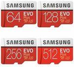 Samsung EVO Plus Micro SD Card 256GB $52.65 Delivered @ Flashforwardtech eBay
