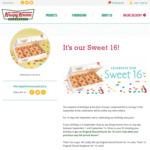[NSW, VIC, QLD, WA] Buy Any Dozen Doughnuts (from $17.95) & Get 2nd Glazed Dozen for $0.16 if Birthday is in Sept @ Krispy Kreme