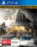 [PS4] Assassin's Creed: Origins Gold $28 Free C&C + Delivery @ The Gamesmen, $30.95 + Delivery ($0 with Prime) @ Amazon AU