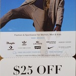 $25 off Your First Full Priced Purchase (Min $99 Spend) @ The Iconic