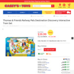 Thomas Railway Pals Destination Discovery Interactive Train Set $39.99 (Was $79.99) + Shipping @ CaseyToys