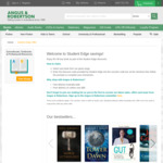 Student Edge 6% Discount on Books @ Angus and Robertson