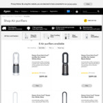 Dyson Air Purifier Pure Cool Me $399, Pure Cool Tower $699 Delivered @ Dyson