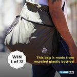 Win 1 of 3 Stylish Recycled Carry Bag Made out of Plastic Bottles from Planet Ark