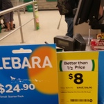Lebara $24.90 pack (12GB, unl. text+call in AUS+ to 20 countries) for $8 - Woolworths