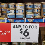 Buy Any 10 Fancy Feast Cat Food Cans for $6 @ The Reject Shop