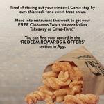 [QLD, VIC] Free Cinnamon Twists (via Rewards App) @ Taco Bell