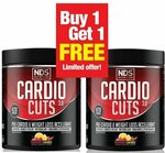 Cardio Cuts - Buy 1 Get 1 Free - $62.96 Delivered @ SuppKings Nutrition