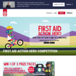 Win 1 of 3 Prize Packs Containing a First Aid Kit + Teddy Bear Worth $159.95 Each from St John Ambulance [Kids Comp]