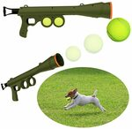 Dog Tennis Ball Gun Launcher with 2 Tennis Balls $7.50 (Was $29.99) + Delivery ($0 with Prime/$39 Spend) at Ahatech Amazon