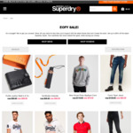Up to 60% off @ Superdry AU
