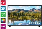 "[Pre Order] Kogan 43"" 4K UHD HDR LED TV for $319 + Delivery (Ships 20 July) @ Kogan"