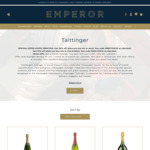 20% off Taittinger Cuvée Prestige Brut Champagne 6+ Bottles $70.35/Btl (Min Total $422.10) @ Emperor Champagne