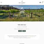 Premium Lakeside SA Sparkling & Shiraz Mixed 6pk. $52.50 Delivered @ Bec Hardy Wines