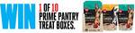 Win 1 of 10 Prime Pantry Treat Boxes from Prime100