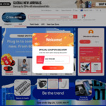 US$4 (~A$5.49) off Coupon on First Orders from New Users @ AliExpress