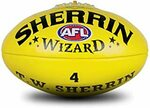 Sherrin Wizard Leather AFL Size 5 $21.81, Wilson NFL MVP Football $13.50 (Sold Out) + Delivery ($0 Prime/$39) @ Amazon AU