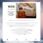 Win $1500 of Luxury Australian Baby Bedding and Accessories from Aurelius Leather