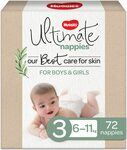 Huggies Ultimate Size 3/4/5 $22.99 ($19.54 with Subscribe and Save for Prime Members) @ Amazon AU