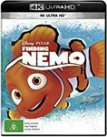 Finding Nemo (Expired), Finding Dory, Cars 1/2/3 (4K Ultra HD) $11.19 + Delivery ($0 with Prime/ $39 Spend) @ Amazon AU
