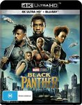 Black Panther (4K Ultra HD + Blu-Ray) $10.79 + Delivery ($0 with Prime/ $39 Spend) @ Amazon AU