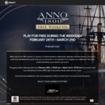 [PC] UPlay - Free to play weekend - Anno 1800 - Ubisoft