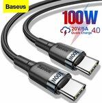 Baseus 0.5m 60W Type-C Cable US$1.41 (~A$1.83) @ BASEUS Officialflagship Store AliExpress