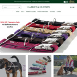 50% off Hunters Softie Collars and Leashes Delivered @ Harriet & Hudson