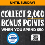 Bonus flybuys Points: 2000 with $50 Online Spend, Extra 2000 with $100 Spend on Selected Wines & Spirits @ First Choice Liquor