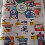 Half Price Chobani Yoghurt $0.90- $1.75, Kettle Chips 150-175g $2.32 @ Woolworths