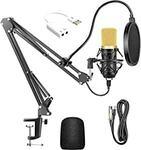 JORAGO USB Streaming Podcast PC Condenser Microphone Kit $27.99 (RRP $49.99) + Delivery ($0 with Prime) @ JORAGO Amazon AU