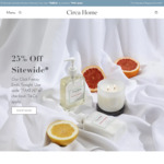 25% off Sitewide Excluding 'Kitchen Alchemy' @ Circa Home