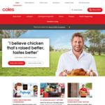 $10 off $130 Click & Collect Shop @ Coles