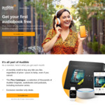 2 Free Audiobooks @ Audible AU (Returning Subscriber Offer)