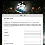 Win a Vaxstage Pass @ Ticketek