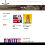 20% off Coffee (e.g. 1kg $40) + Free Delivery @ Coffee King