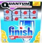 160 Quantum Finish Dishwashing Tablets $70.00 Free Shipping