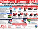 PLE Cockburn (WA) Windows 8 Launch Sale - 120GB Silicon Power SSD $79 + Free Sausage Sizzle!