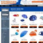 60% off Comocean Beach Tents @ Anaconda ($16 to $52, Free Metro Delivery)