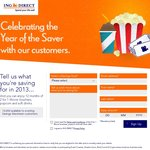 ING DIRECT - A Year of 2 for 1 Movie Vouchers, Popcorn and Soft Drinks!