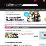 Just Get Special Offer as CommBank Credit Card Customer 16 Wines for $99 Free Delivery