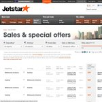 Jetstar's 9th Birthday Sales